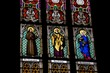 St Francis, St Peter & St Elisabeth window, St Vitus Cathedral