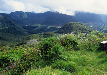 Salazie cirque, La Reunion Island