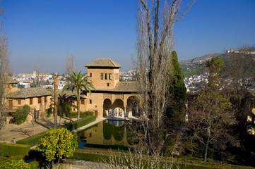 El Partal - Alhambra - Granada - Spanien
