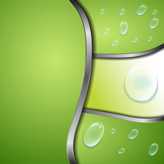 abstract background design and water drops