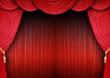 Bühnenkulisse eines Theaters
