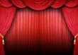 Theaterbühne geschlossen