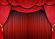 Opernhaus mit edlen Vorhängen