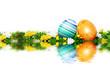 Schöne Dekoration zum Ostern Fest