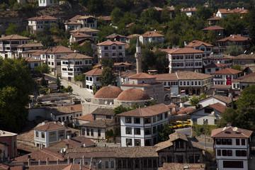 city view of Safranbolu Turkey