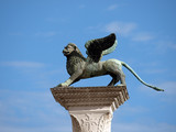 Chimera Sculpture on the Piazetta - Venice
