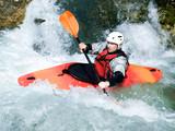 Fototapete Fluß - Wasser - Sommersport
