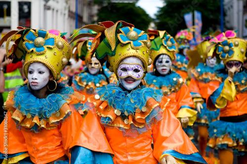 Fotobehang Carnaval Carnavival Masks parade
