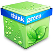 think Green Cube