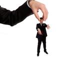 Businessman manipulation