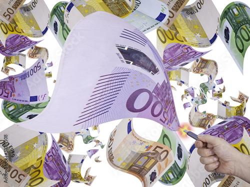 Almacenar billetes de banco