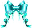 blue luxury ribbon