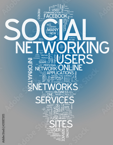 "Word Cloud ""Social Networking"""