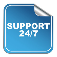 SUPPORT 24 7 ICON