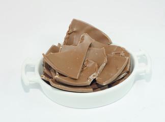 ciotola con cioccolato
