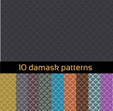 Damask patterns