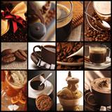 Fototapety Kolaż kawowy