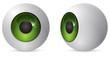 green eye ball