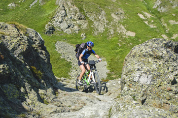 kniffliger Trail