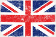 vector grunge styled flag of united kingdom
