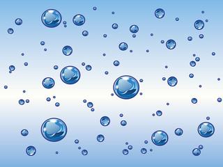 Wassertropfen Wasserblasen Wasser Welle 11