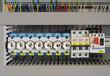 Leinwanddruck Bild - Schaltkasten Elektro Sicherung
