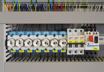 Schaltkasten Elektro Sicherung