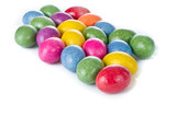 easter eggs isolated