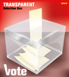 transparent election box