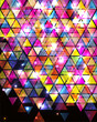 Abstract Background with triangle pattern.