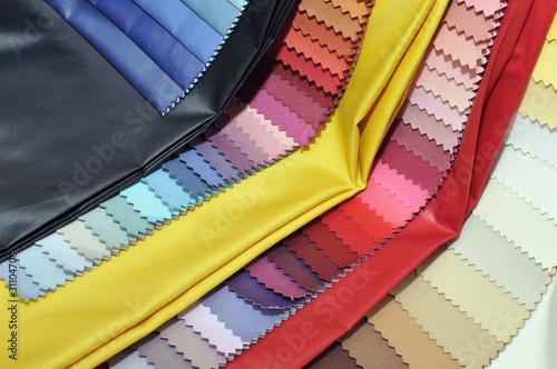 Textil Stoffmuster bunt