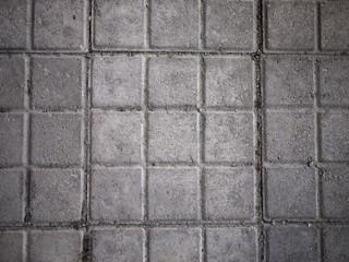 Square concrete floor