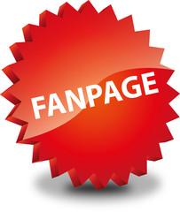 Button Rund Fanpage