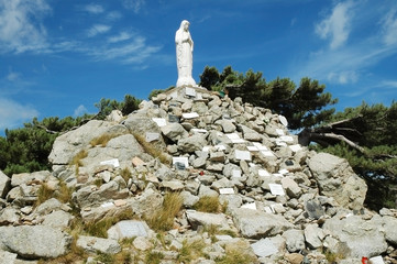 The king of Christs, Col de Verghio, Corsica
