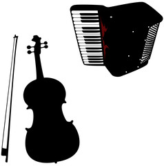 Violin and accordion