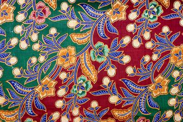 Exotic Malaysian batik Pattern