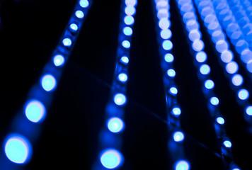 imagen abstracta de bombillas led