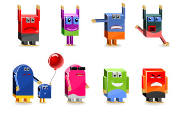 Cute robots