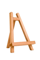easel for artist. tripod for painting.