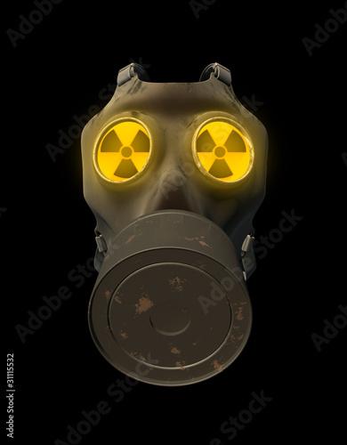 gasmaske atomar verseucht