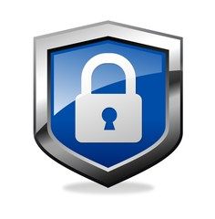 Blue Secure shield