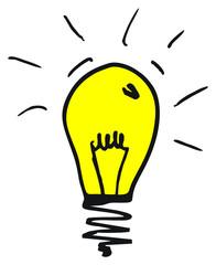 Glühlampe & Erleuchtung, Idee