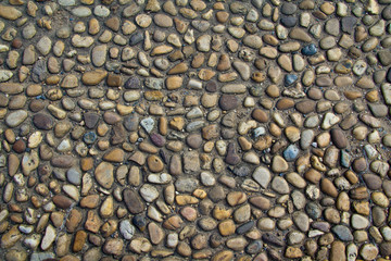 Abstract Pebbles background