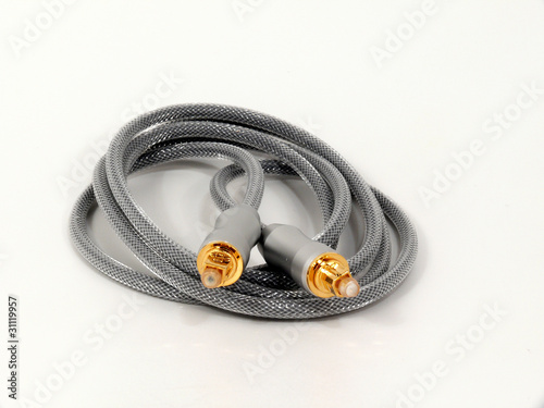Audio- Glasfaser-Kabel