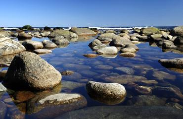 Specific Swedish coast