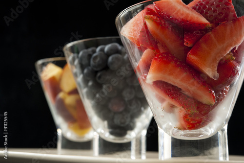 Strawberries, Blueberries and Nectarines