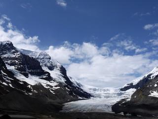 Athabasca Glacier in the Columbia Icefield Jasper Canada