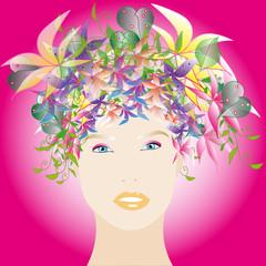 Viso di donna, Terra Madre Floreale