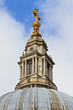 Top of Dome of St. Paul´s Cathedral, London, UK