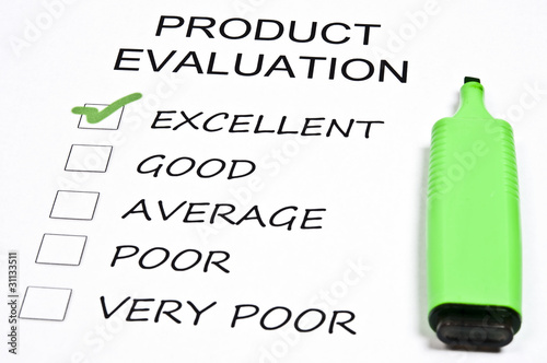 poster of Product evaluation